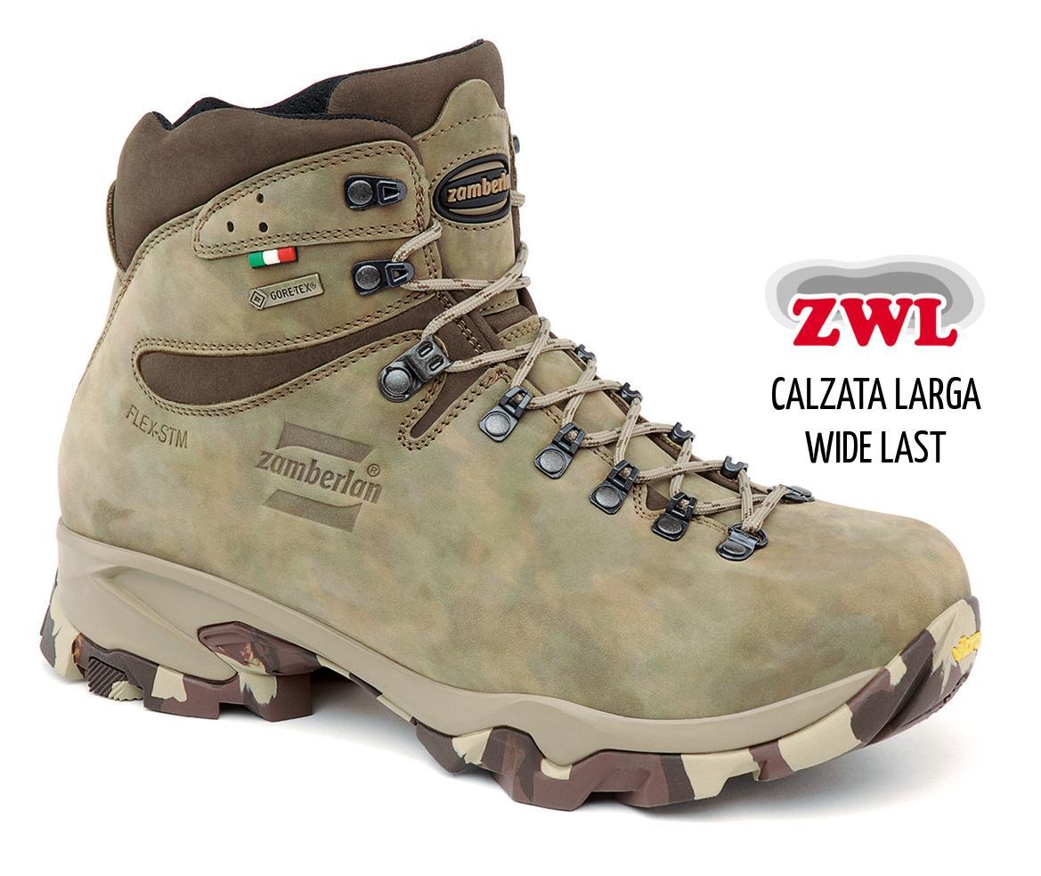 1013 LEOPARD GTX®  WIDE LAST -   Scarponi  Caccia   -   Camouflage