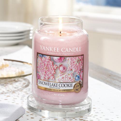 Snowflake Cookie - Giara Grande Yankee Candle