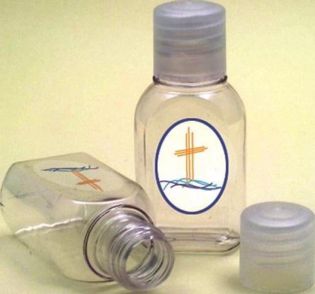 Bottiglietta plastica 25 ml. (100 pz)