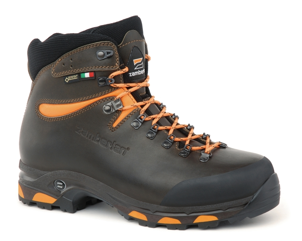 1022 JACKRABBIT GTX RR WIDE LAST - Scarponi Caccia - Dark Brown/Orange