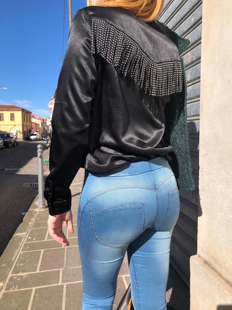 Legging Jeans Push-up