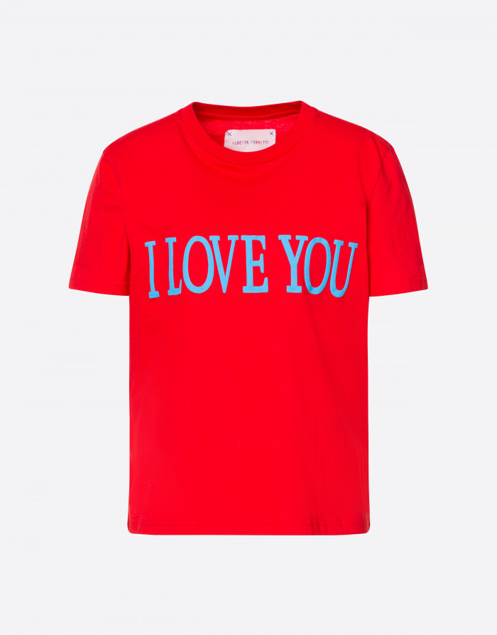 T-SHIRT I LOVE YOU, ALBERTA FERRETTI