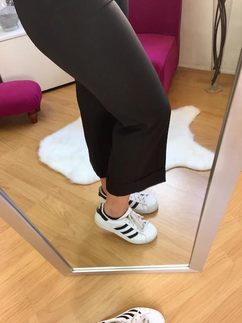 Pantalone Gaucho  alla caviglia 2 colori