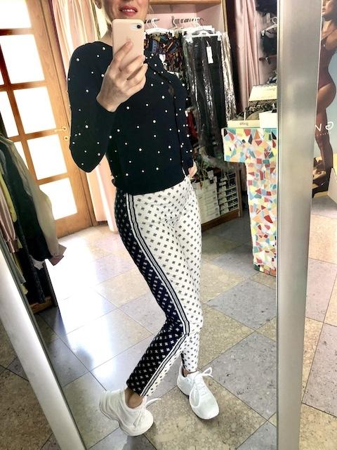 Pantalone stampato Little Hub Oroblu