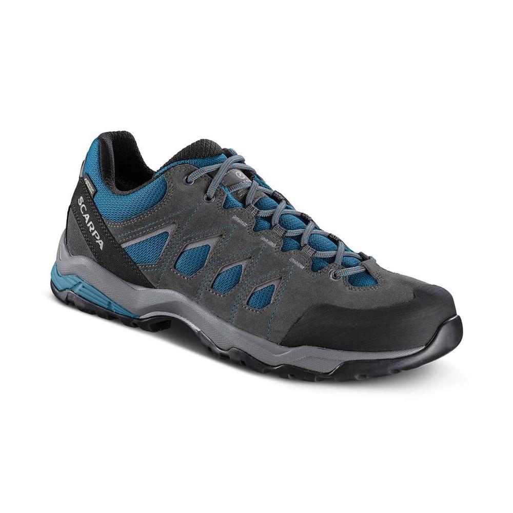MORAINE GTX   -   Hiking lunghe camminate, uso cittadino, Impermeabile   -   Ocean Blue-Storm Gray- Gray