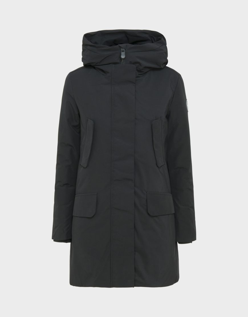 parka donna SAVE THE DUCK COPY7 nero